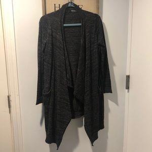 Zara Knit Dark Grey Soft Cardigan with Pockets